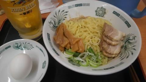 東京_日高屋_油そば2