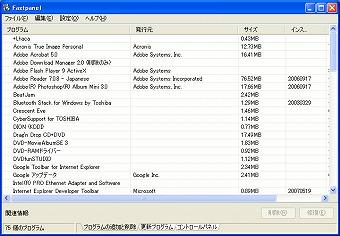 フリーソフト Fastpanel