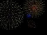 フリーソフト ゆきやまさんの花火スクリーンセーバー 2