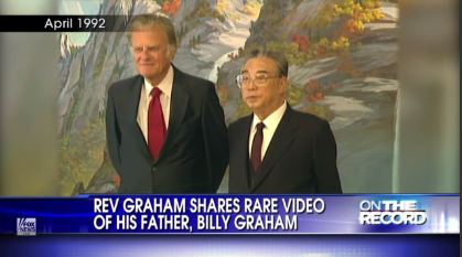 billy graham北朝鮮