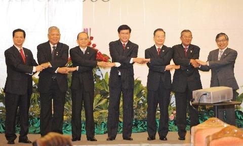 メコン川流域経済協力第三回首脳会議・ADB黒田