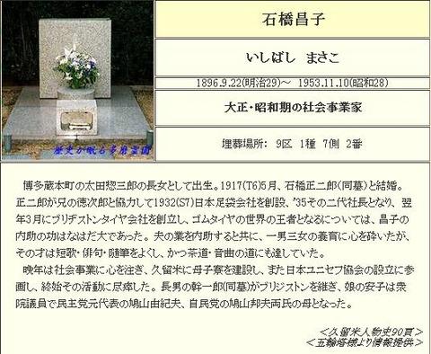 石橋昌子(鳩山祖母)