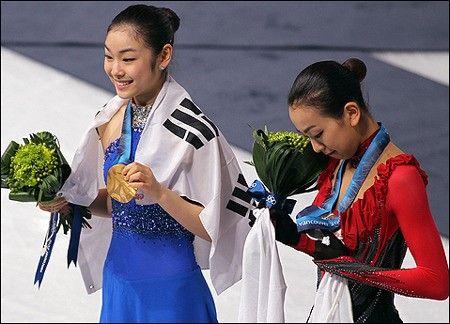キムヨナ金メダル