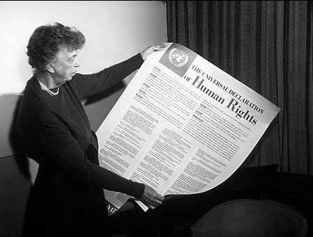 エレノアルーズベルトと世界人権宣言
