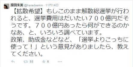 14選挙費用700億円