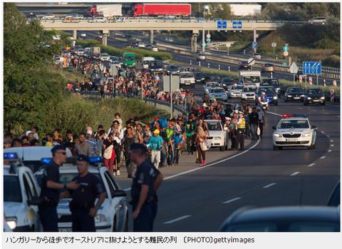 アイランはなぜEU移民ハンガリーから徒歩でオーストリアへ