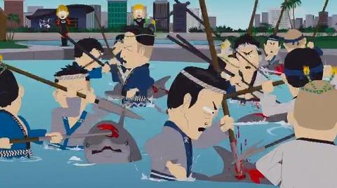 サウスパーク日本人襲来