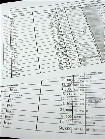 岩本司収支報告書