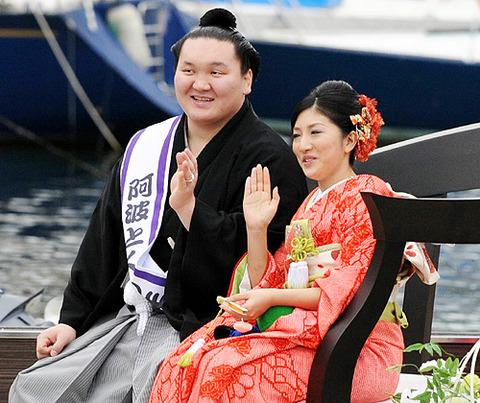 白鵬和田紗代子