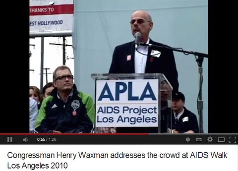 ヘンリーワックスマンAIDSwalkLA2012
