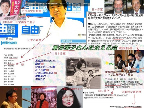 反原発・日本赤軍・従軍慰安婦・北朝鮮