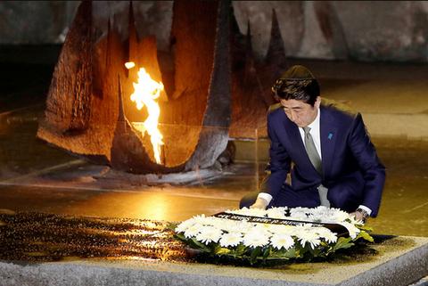安倍首相ヤドバシェム訪問3