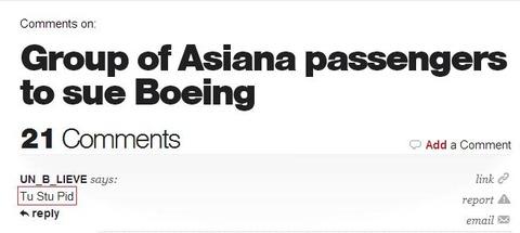 asiana passengers sue boeing comment(cbs)
