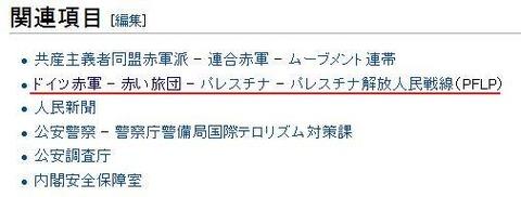 日本赤軍wiki関連項目