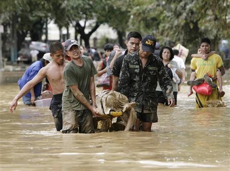 フィリピンONDOY台風