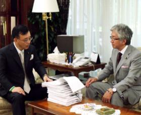 解散総選挙を求める署名by西田昌司