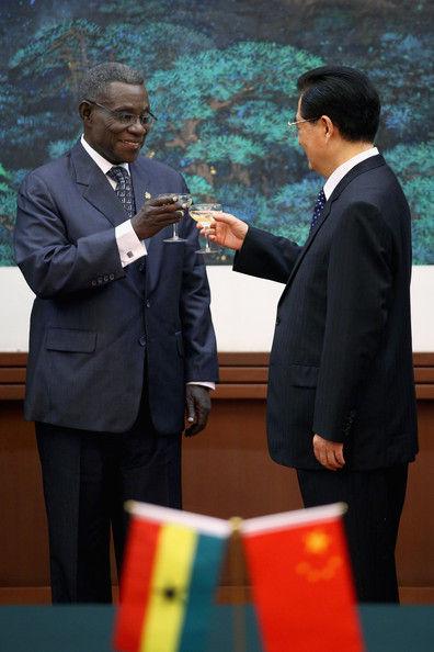 ガーナ大統領ジョンミルズ訪中