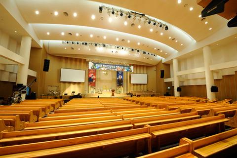 天福宮16二階大聖堂