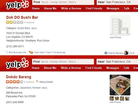 dokdo sushi bar