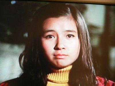初めて映画出演の秋吉久美子