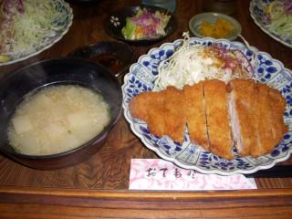薩摩・黒豚トンカツ