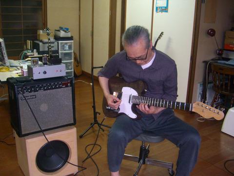 ギター試奏