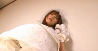 麻倉憂 可愛いウェディングドレスの花嫁とラブラブラブラブラブエッチ