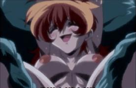 エロアニメ モンスターに犯されて喜ぶ淫乱な女戦士