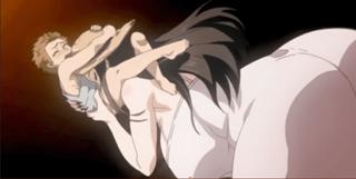 エロアニメ 妖怪デカ女に可愛がられるボク
