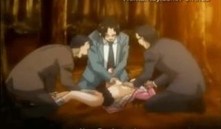 エロアニメ 彼女がレイプされてるのに逃げて助けないクズ彼氏