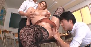 風間ゆみ イケナイゆみ先生のムチムチ肉感授業