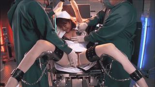 みひろ 拘束されて色々な器具でイカされ続ける美少女ナース