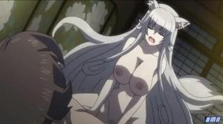 エロアニメ 女体化したキツネみたいな淫乱女に犯されるんだがww