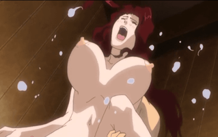 エロアニメ キモオタメガネにイラマチオ、アナルレイプされる人妻
