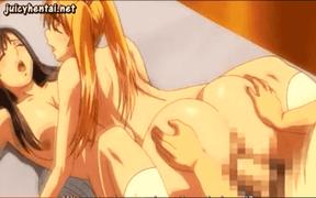 エロアニメ 美少女2人を重ねてハメるの愉しすぎw