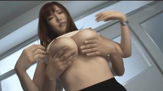 沖田杏梨 乳揉み爆乳女教師