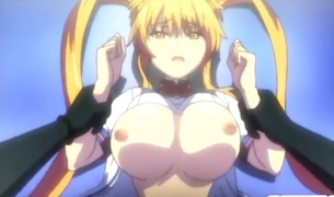 エロアニメ 強力な媚薬で淫乱メス犬になり下がった巨乳女子高生