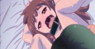 エロアニメ 突然現れた変質者に処女マ○コ中出しレイプされるが気持ち良すぎて自らおねだりする微乳ロリ