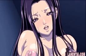 エロアニメ むっちり巨乳な痴女お姉ちゃんに手コキ、フェラ、素股、騎乗位と連続射精させられる早漏弟