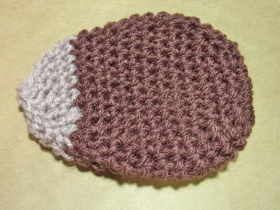 たわし 編み 方 の アクリル