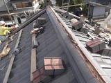 屋根瓦葺き替え1