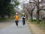 大阪城 eランニング 1