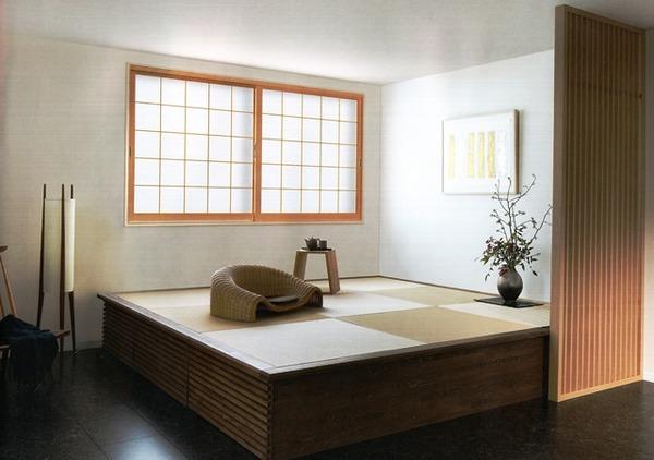 あの和紙を通したやわらかい日差しが 日本の住まいを演出しています インプラスウッド
