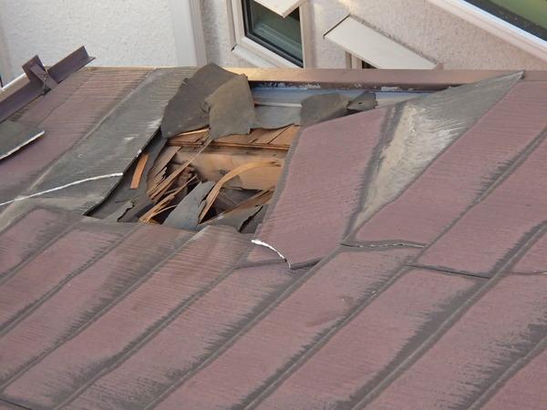 今年は台風が来るたびに壊された屋根の対応に追われました  どんどん強くなる暴風雨に備えて屋根の点検をしましょう