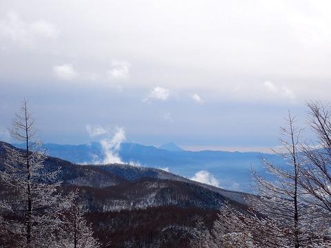 101 登りから富士山