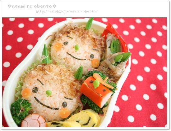 asamiのお弁当。簡単かわいいキャラ弁の作り方