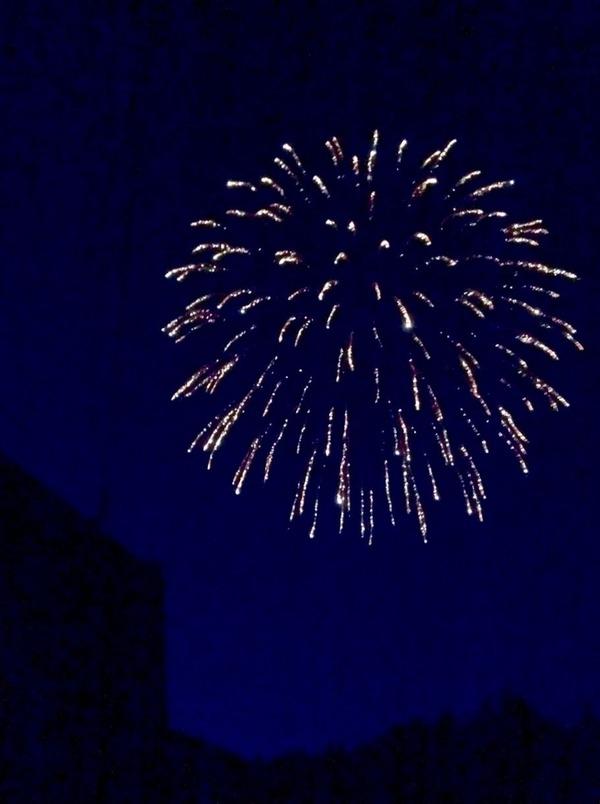 村祭りの花火2