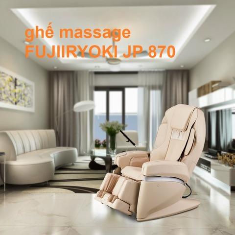 ghế massage FUJIIRYOKI JP 870