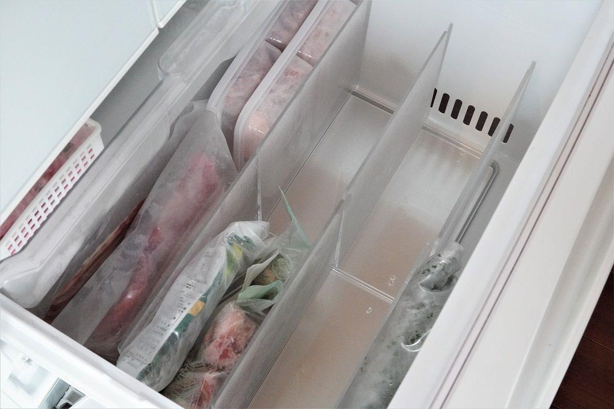 冷凍庫収納7