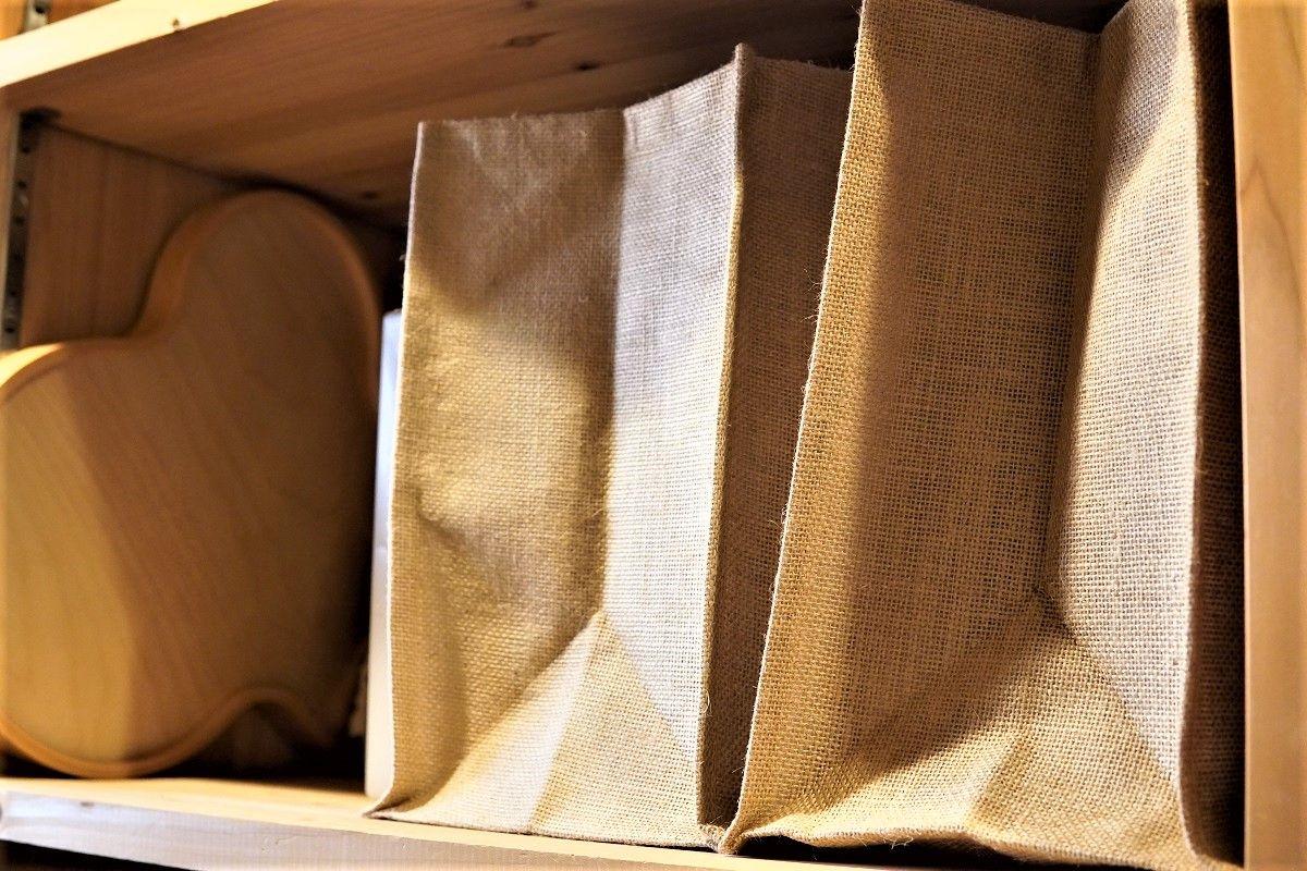 ジュートマイバッグのパントリー収納